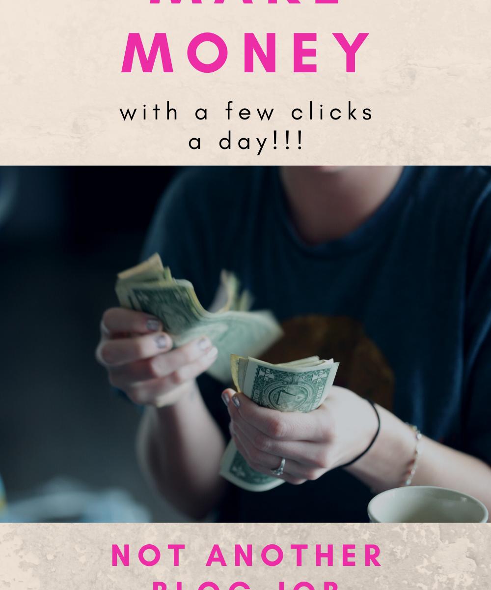 make money with a few clicks